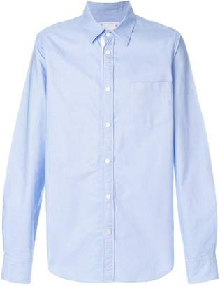 Sacai classic collared shirt