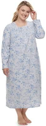 Croft & Barrow Plus Size Long Pintuck Nightgown
