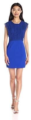 Greylin Women's Esme Crochet Lace Dress