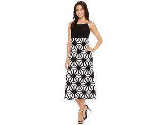 Vince Camuto Tribal Starlight Maxi Dress w/ Side Slits Women's Dress