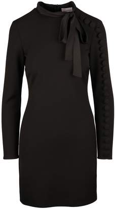 RED Valentino Fitted Cady Tech Dress