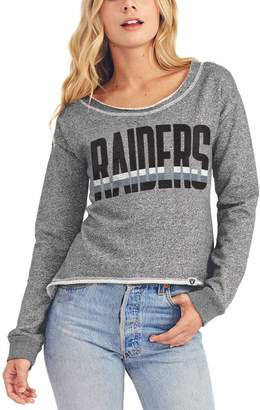 Junk Food Clothing Oakland Raiders Sweatshirt (Women's)