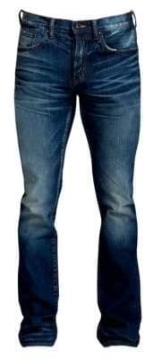 PRPS Demon Slim-Fit Straight-Leg Dark Wash Jeans