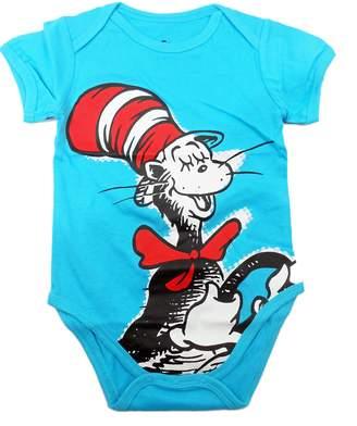 Bumkins Unisex-Baby Newborn Dr. Seuss The Cat in The Hat Graphics Short Sleeve Bodysuit (9M)