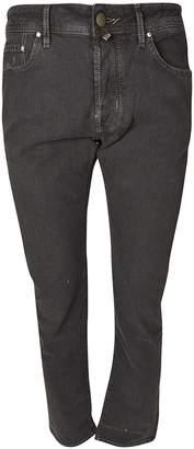 Jacob Cohen Straight Fit Stretch Jeans