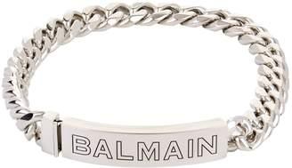 Balmain Nameplate Chain Choker