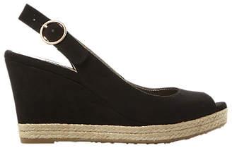fa485e03928 Dune Black Peep Toe Shoes - ShopStyle UK