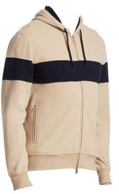 Brunello Cucinelli Spa Colorblock Hooded Jacket