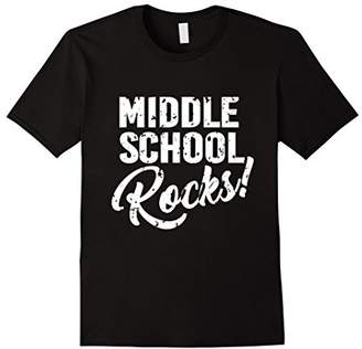 Middle School Rocks T-shirt for Teachers and Students