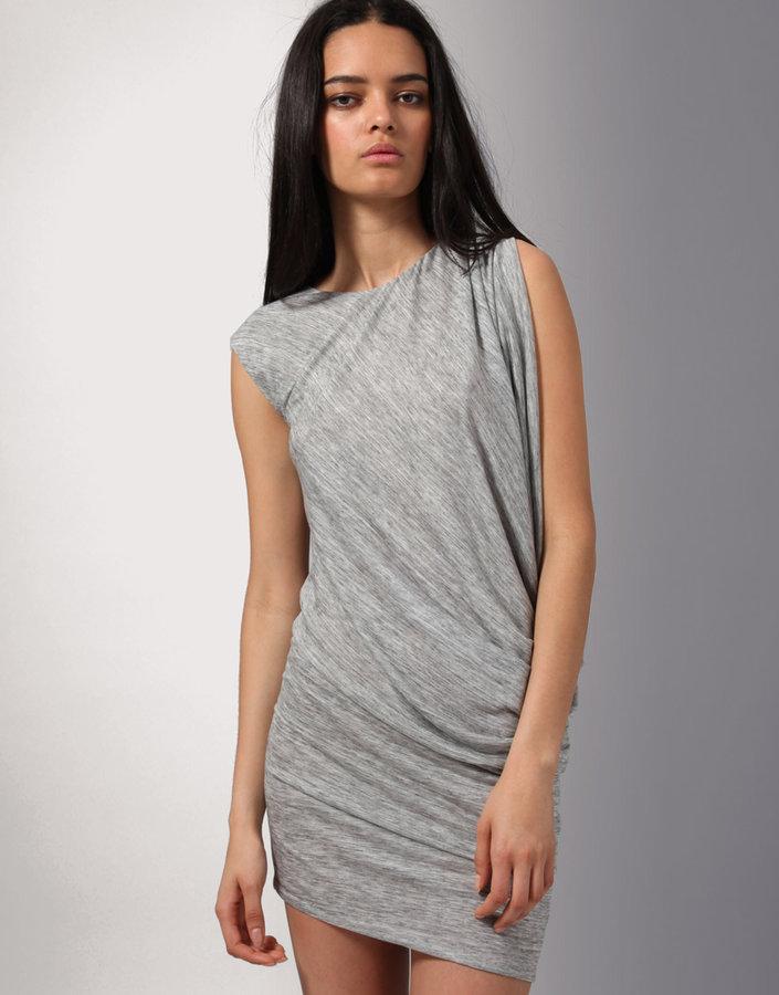 Wayne Side Drape Dress