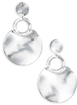 Ippolita Classico Wavy Disc Drop Earrings