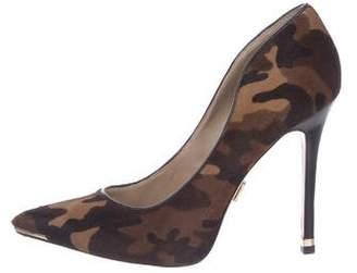 Michael Kors Camouflage Ponyhair Pumps