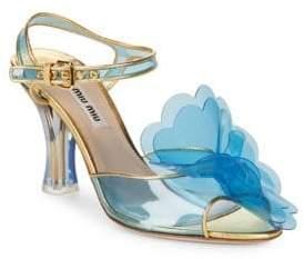 Miu Miu Open Toe Sandals
