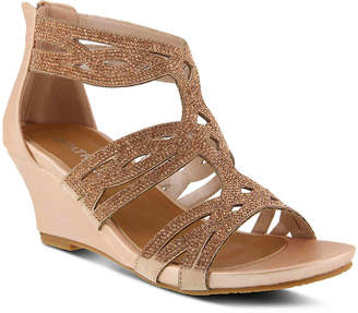 Spring Step Patrizia by Sparkling Wedge Sandal - Women's