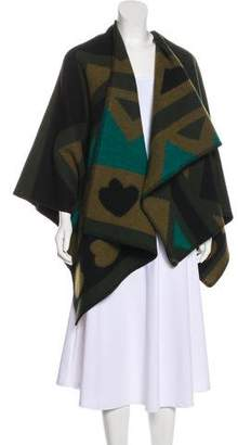 Burberry Wool & Cashmere Shawl