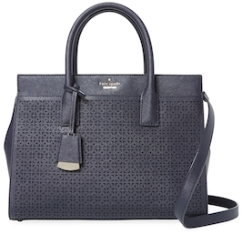 Kate SpadeCameron Street Perforated Candace Leather Satchel