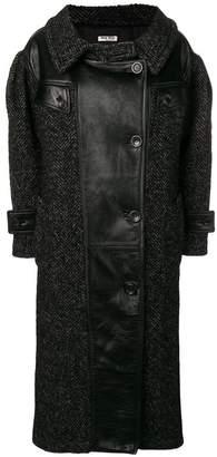 Miu Miu double breasted coat