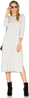 Michael Stars Cashmere Blend Slit Sweater Midi Dress $198 thestylecure.com