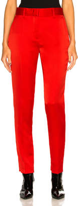 MSGM Trousers in Red | FWRD
