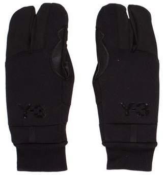Y-3 Wool-Blend Snow Gloves
