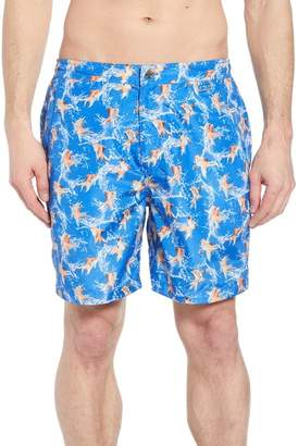Peter Millar Fish Bowl Swim Trunks