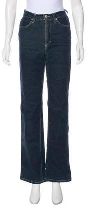 Versace High-Rise Flared Jeans