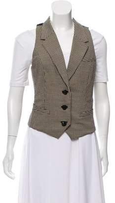 Diane von Furstenberg Wool Notch-Lapel Vest