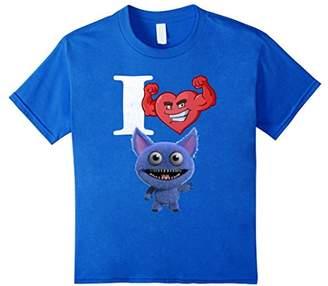 I Love Monster Gremlin Trolls Vintage Heart T-Shirt On Sale
