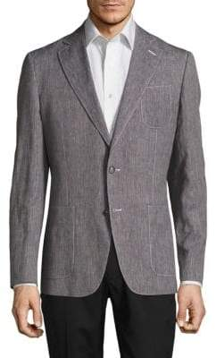 Robert Graham Modern Fit Linen-Blend Sportcoat