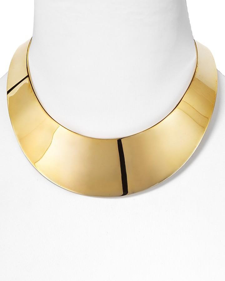 RJ Graziano Gold Collar Necklace