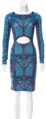 Mara Hoffman Printed Cutout Dress