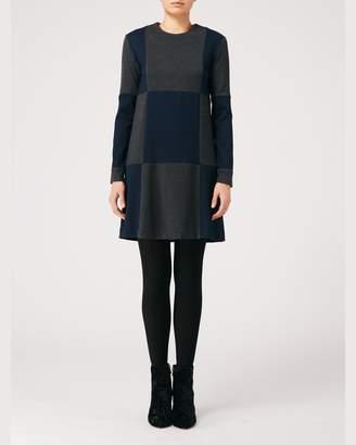 Nicole Miller Ponte Shirtdress