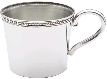 Reed & Barton Corp. Reed & Barton Baby Beads Single-Handled Cup