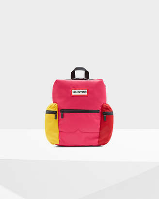 Hunter Color Block Mini Top Clip Backpack