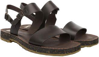 Camper Pimpom Leather Sandal