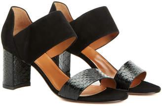 Aquatalia Suzanne Waterproof Leather Sandal