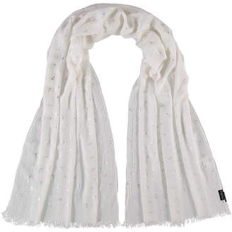 Fraas Anchors with Metallic Oblong Scarf