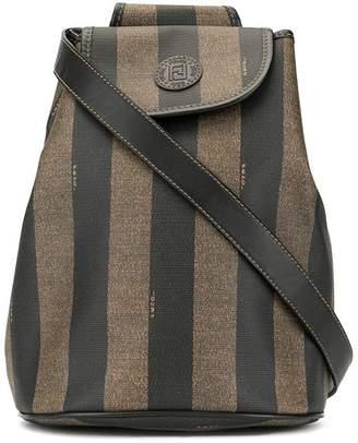 Fendi Pre-Owned Pequin pattern one-shoulder bag