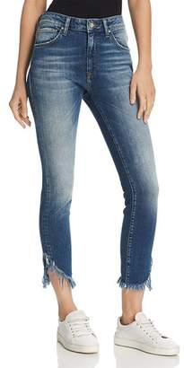 Mavi Jeans Tess Vintage High Rise Skinny Jeans in Extreme Ripped Vintage