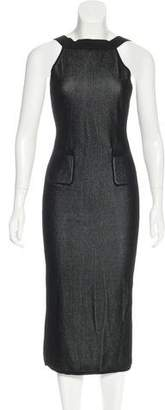 Cushnie et Ochs Rib Knit Sheath Dress