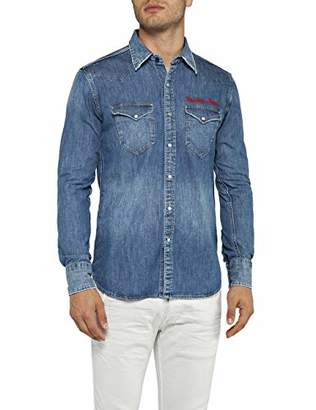 a184dea54f Replay Men s M4981r.000.26c 490 Denim Shirt