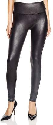 SPANX® Faux Leather Leggings $98 thestylecure.com