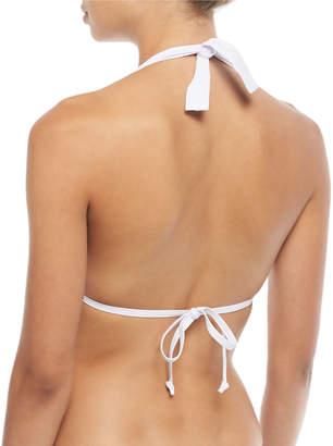 Letarte Banded Halter Bikini Swim Top