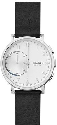 Skagen Hagen Connect Hybrid Smart Watch, 42Mm $195 thestylecure.com