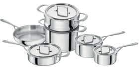 Zwilling J.A. Henckels Sensation 10-Piece Cookware Set - Induction Ready