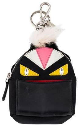 Fendi Micro Monster Backpack Charm