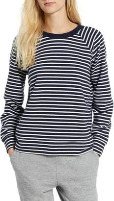 Lou & Grey Stripe Sweatshirt