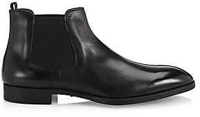 Giorgio Armani Men's Leather Chelsea Boots