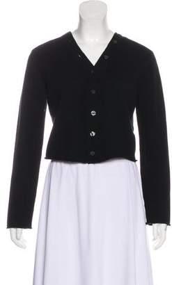 A.L.C. Wool Convertible Crop Cardigan