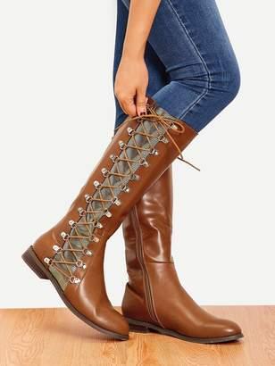 e386aaf6c5 Camel Knee High Boots Women - ShopStyle